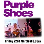Purple Shoes and Barry Clifton